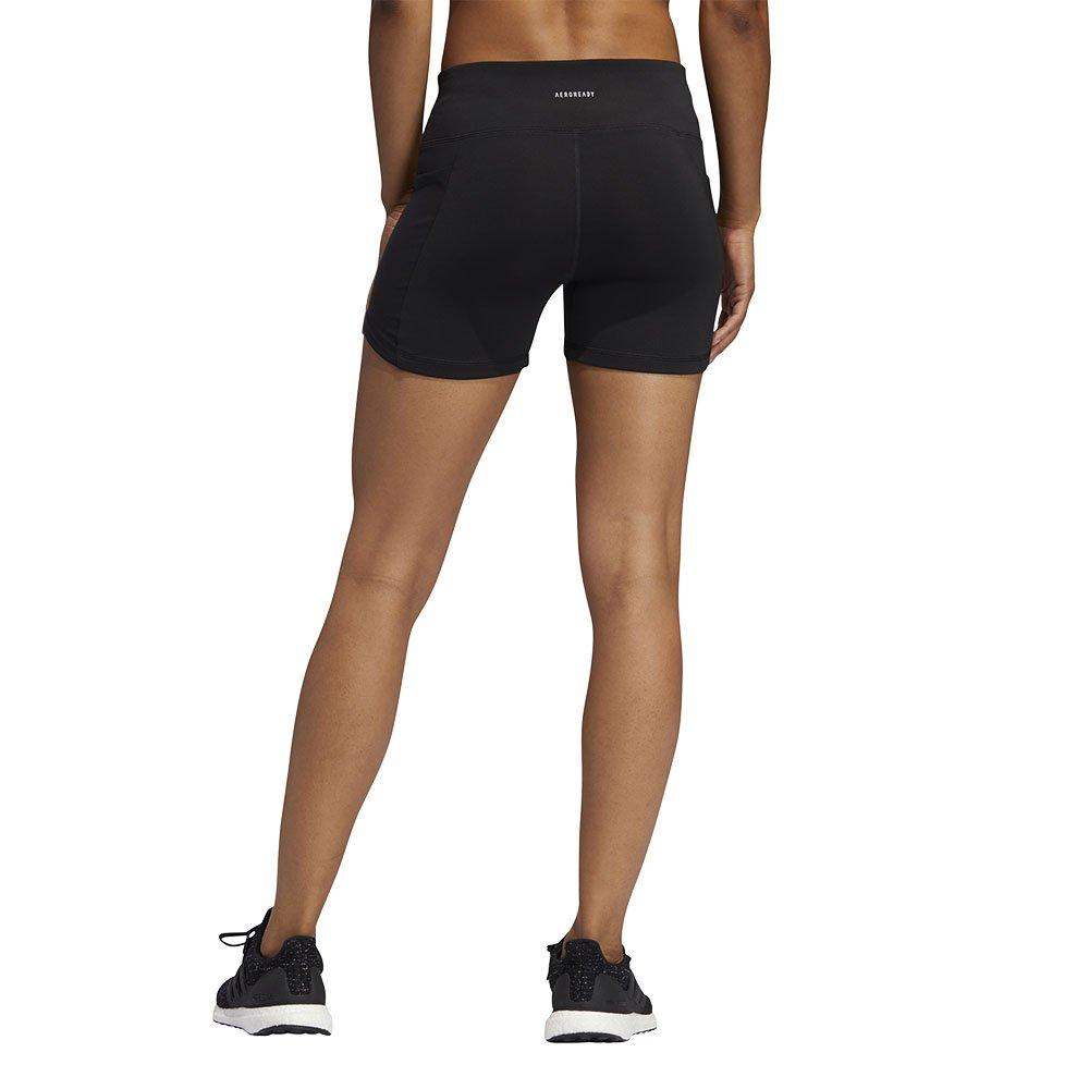 adidas own the run short tights w czarne