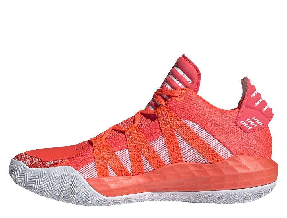 """adidas dame 6 """"solar red"""" (fu6808)"""