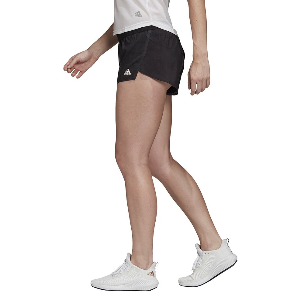 adidas speed split shorts w czarne