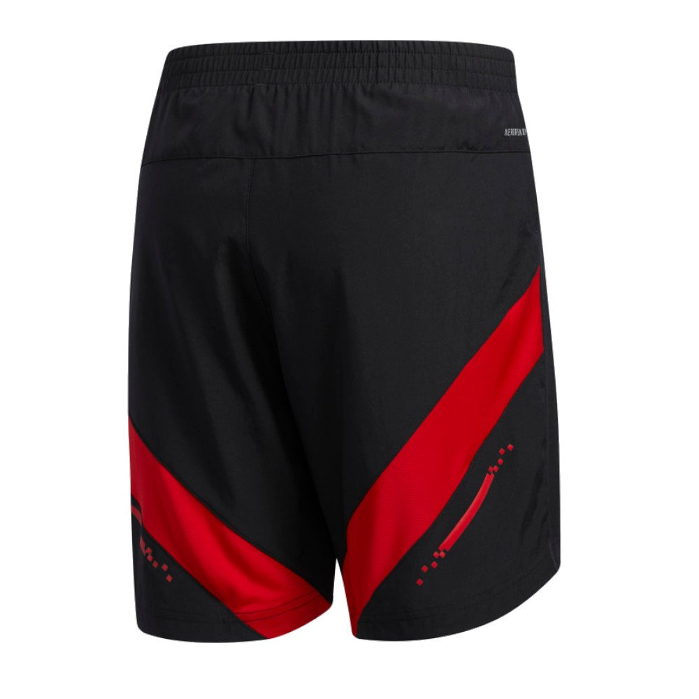 adidas own the run valentine shorts m czarne