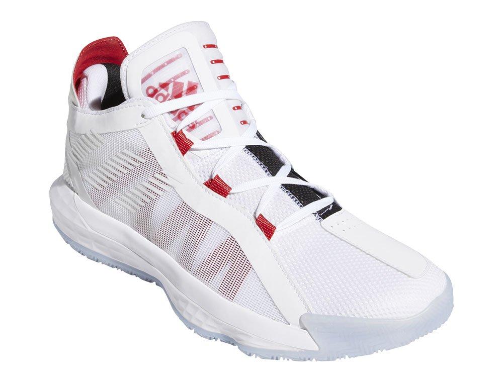 """adidas dame 6 """"white scarlet"""" (eh2069)"""