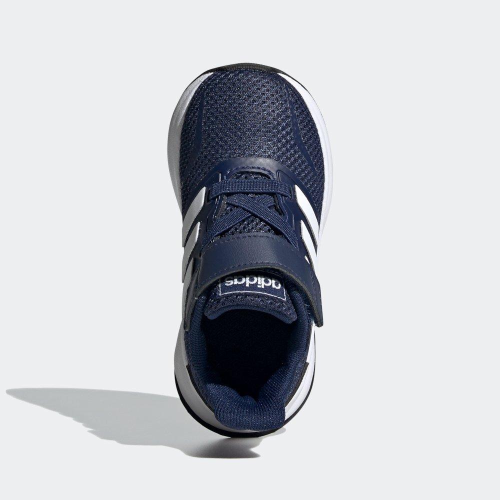 adidas Runfalcon I granatowo białe