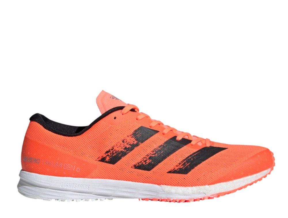 adidas adizero takumi sen 6 m pomarańczowo-czarne