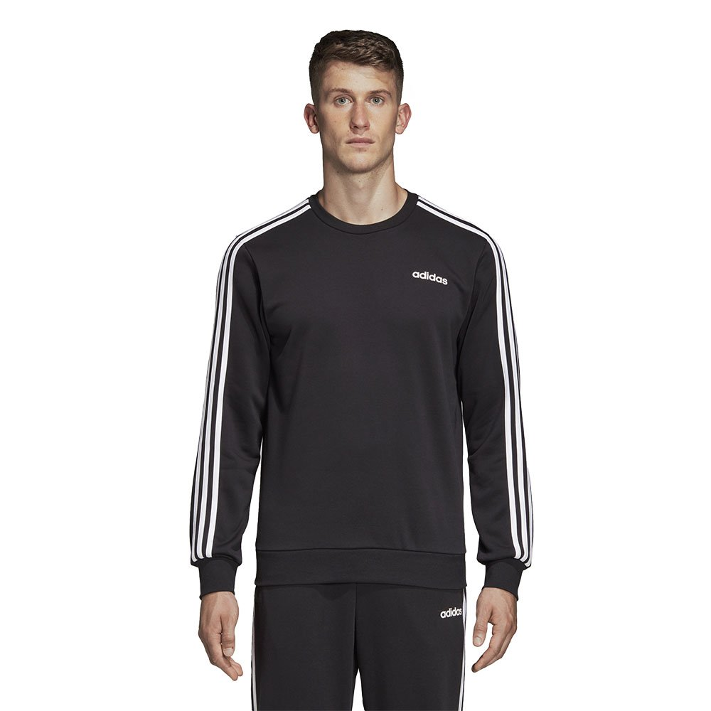 adidas Essentials 3 Stripes Męska Czarna