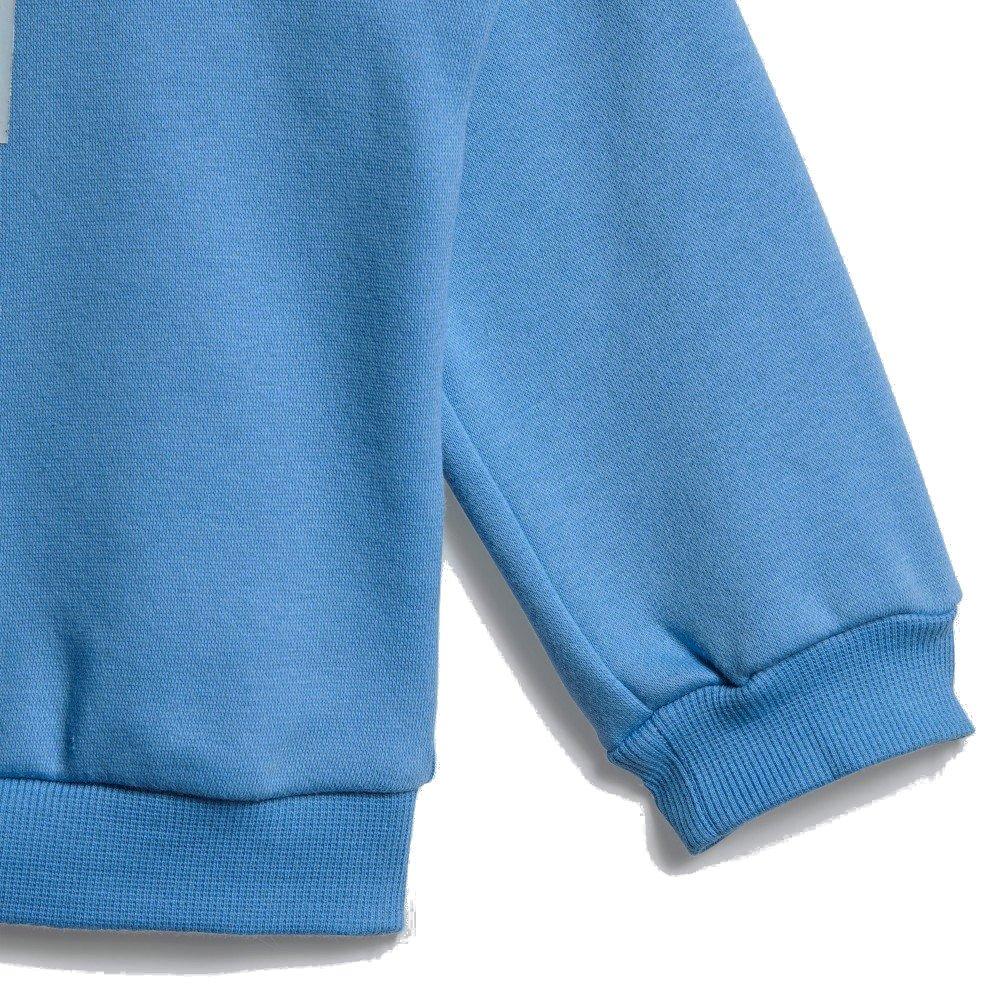 adidas I 3 Stripes Logo Jogger Fleece niebiesko granatowy