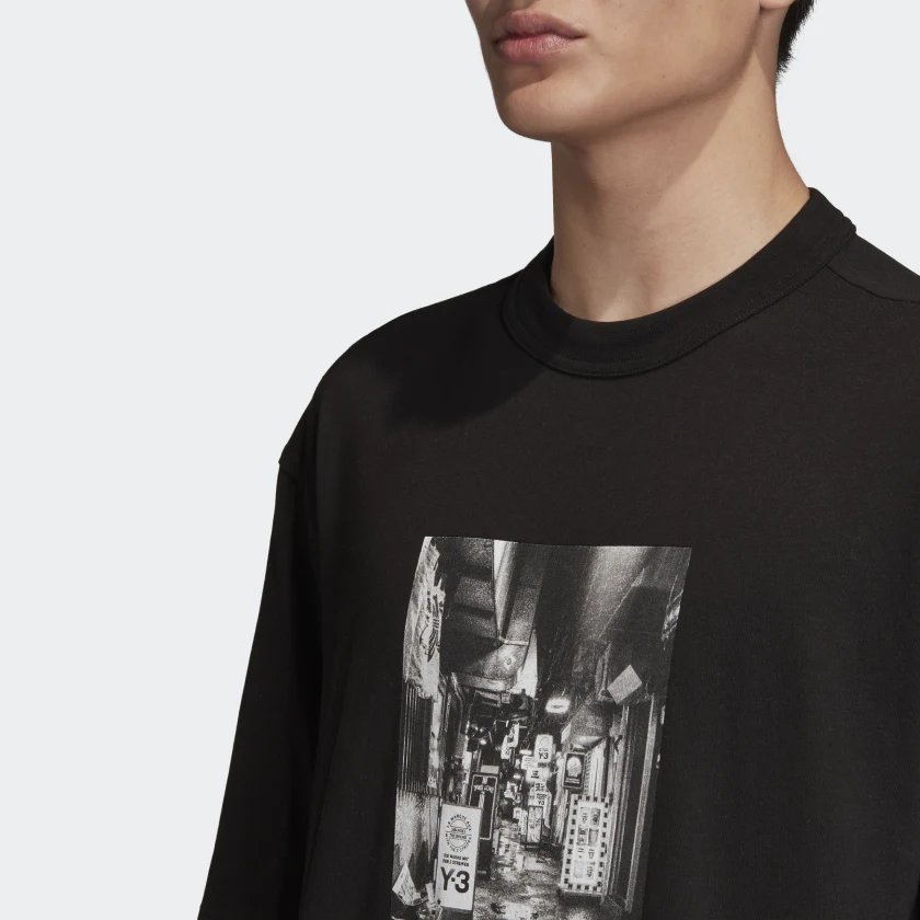 adidas Y 3 Alleyway Graphic Tee (FP8698)