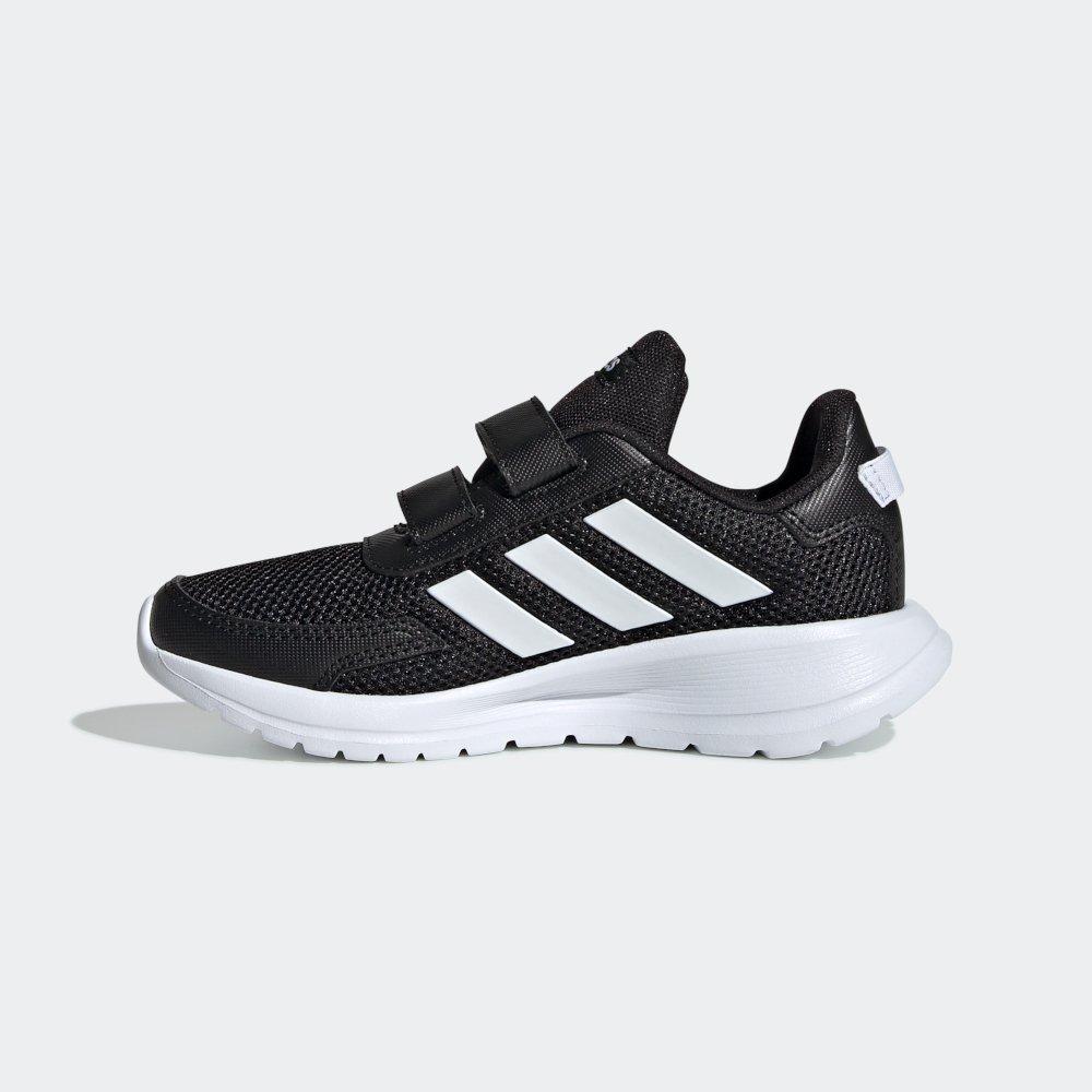 Buty dla dzieci adidas Tensaur Run C czarno białe EG4146
