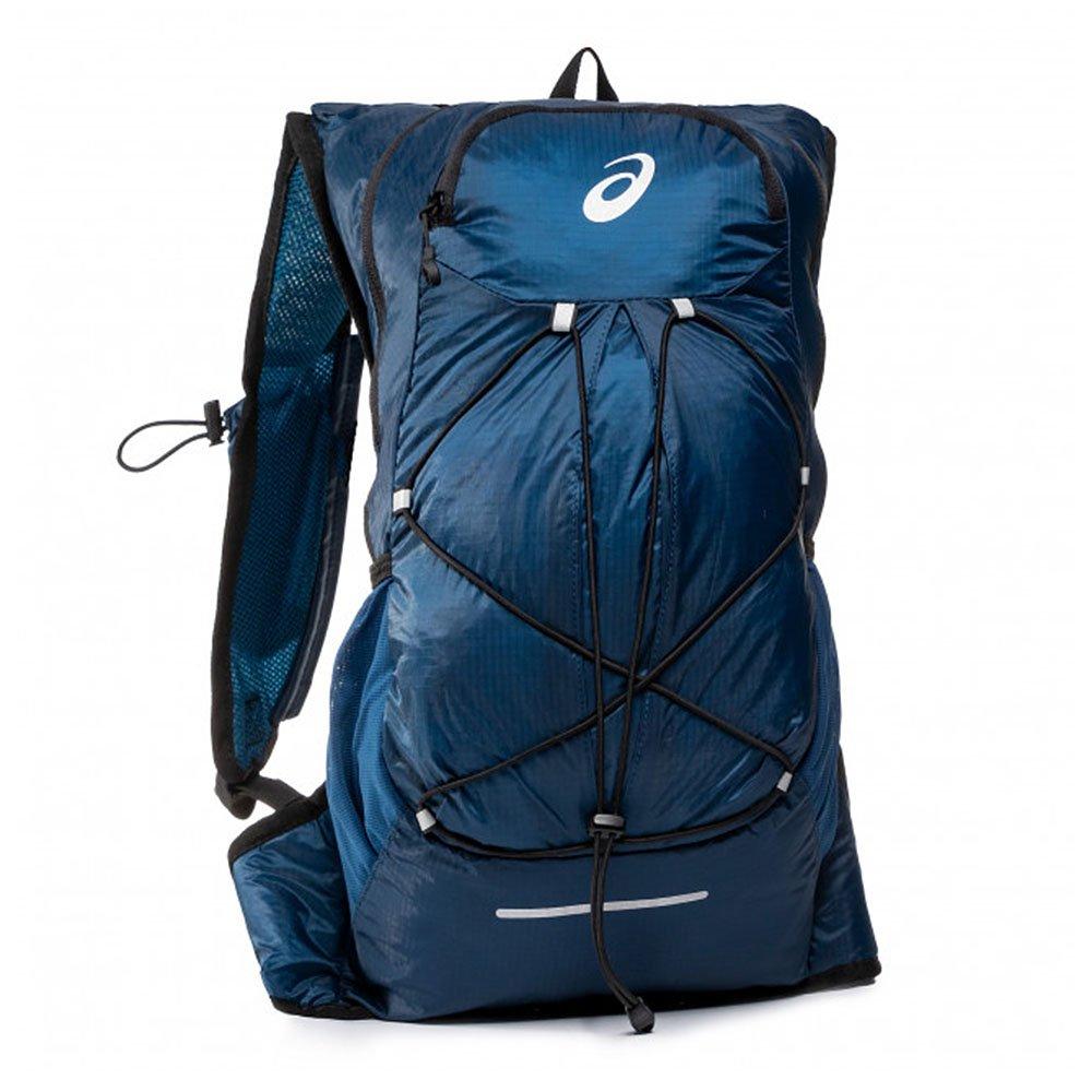 asics lightweight running backpack u granatowy