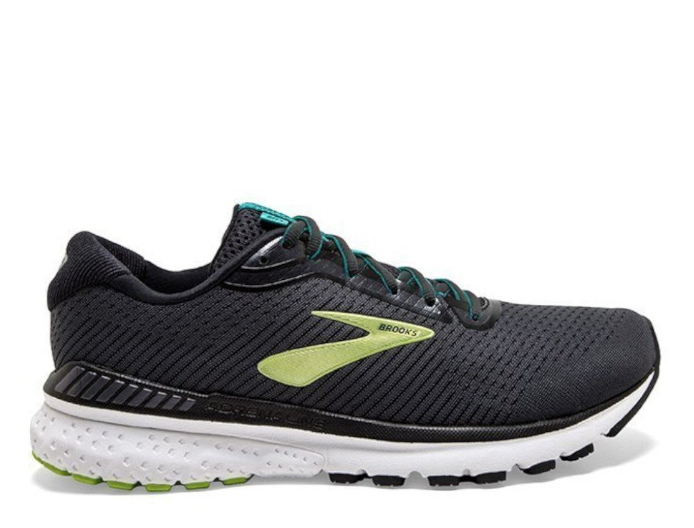 brooks adrenaline gts 20 m czarno-zielone