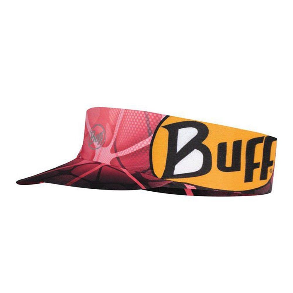 buff pack run visior ape-x coral pink