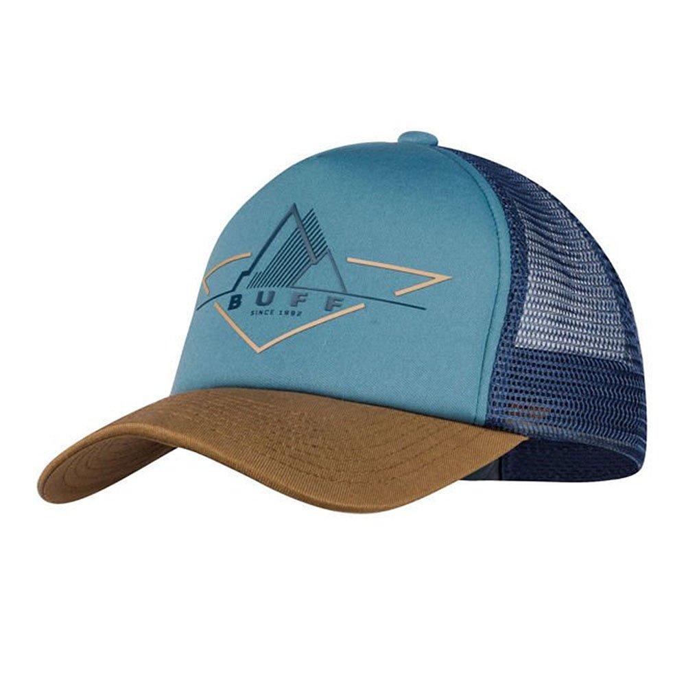 buff trucker cap brak stone blue u niebieska