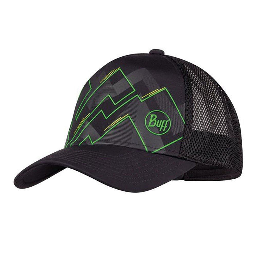 buff trucker cap sone black u czarna
