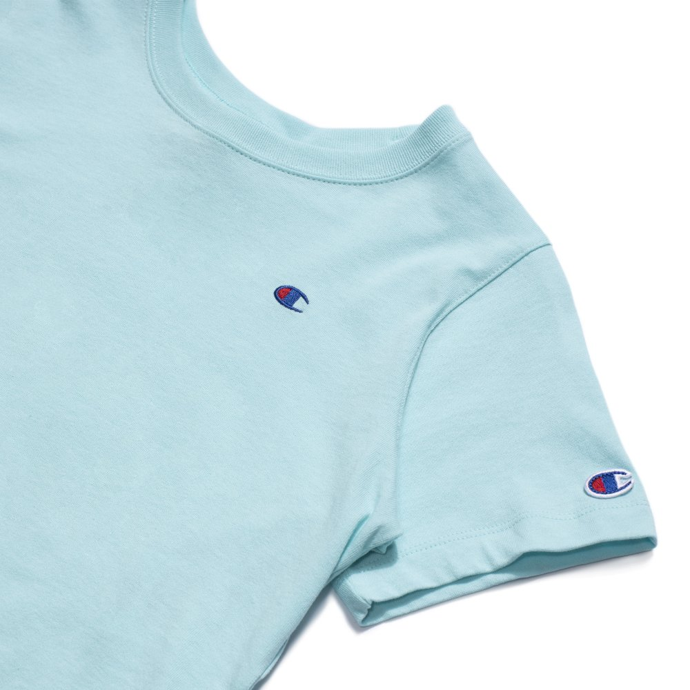 champion crewneck crop top (112731-bs056)