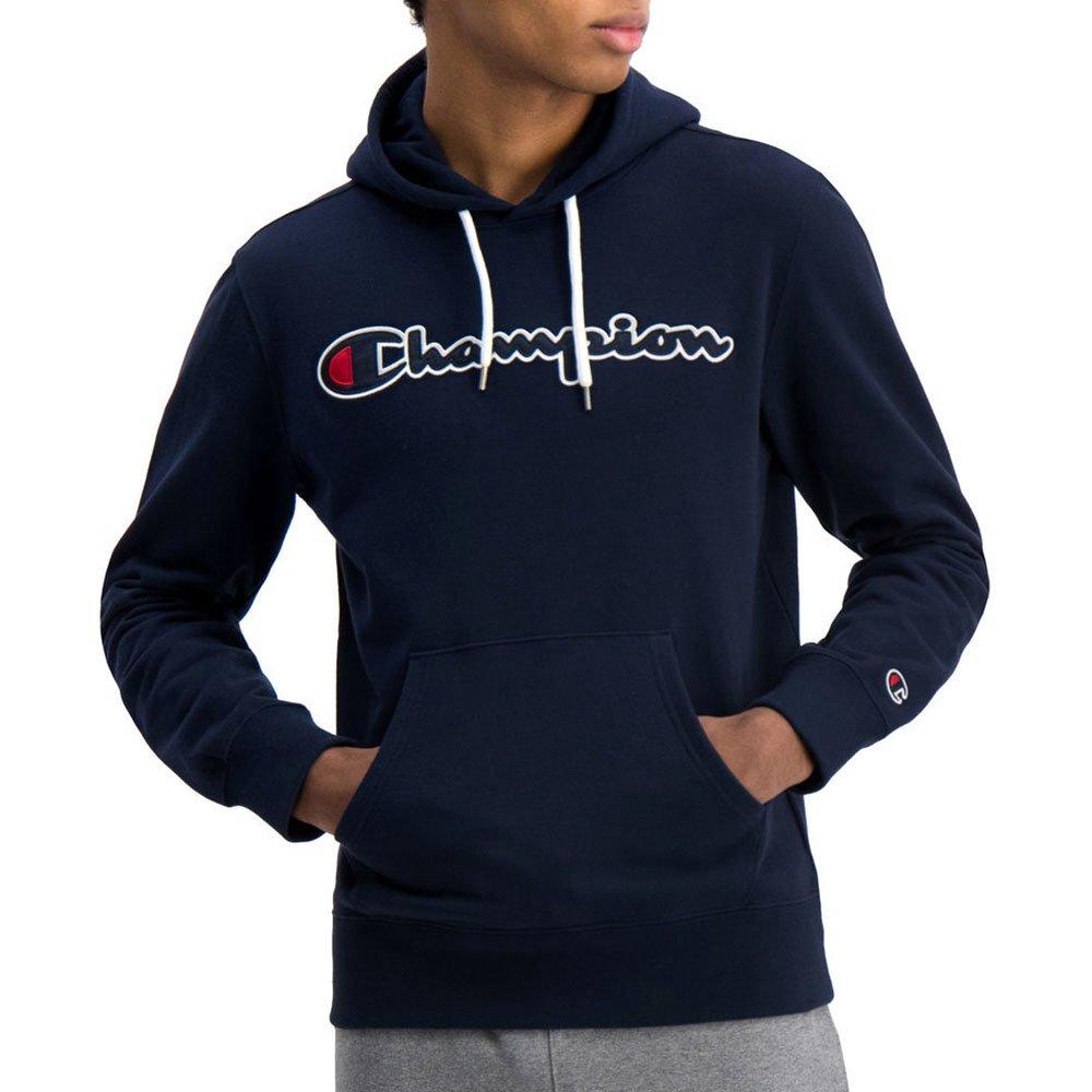 champion satin script logo hoodie (214183-bs538)