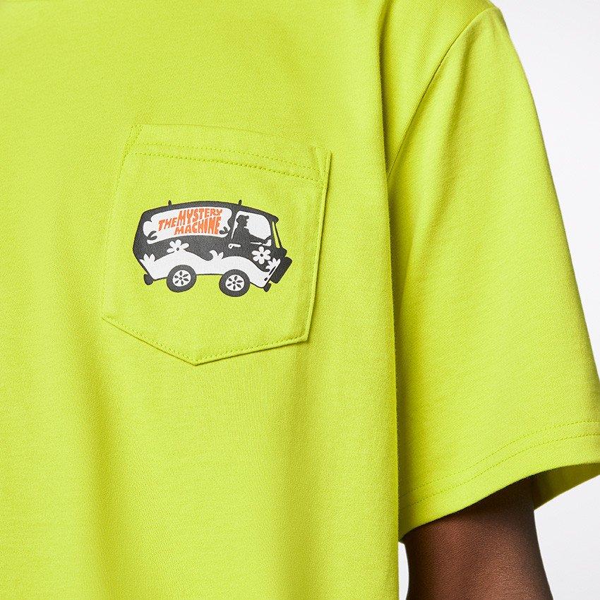 converse by scooby doo <br/><b>pocket t-shirt</b> <br/>(10020845-a01)