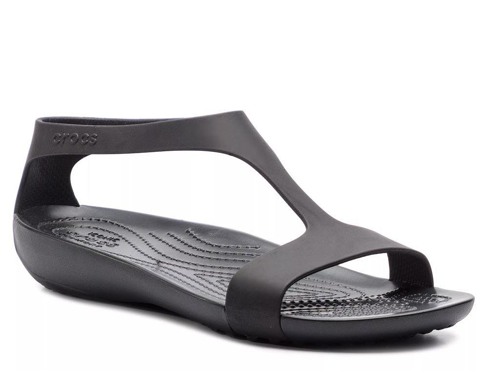 crocs serena sandal damskie czarne