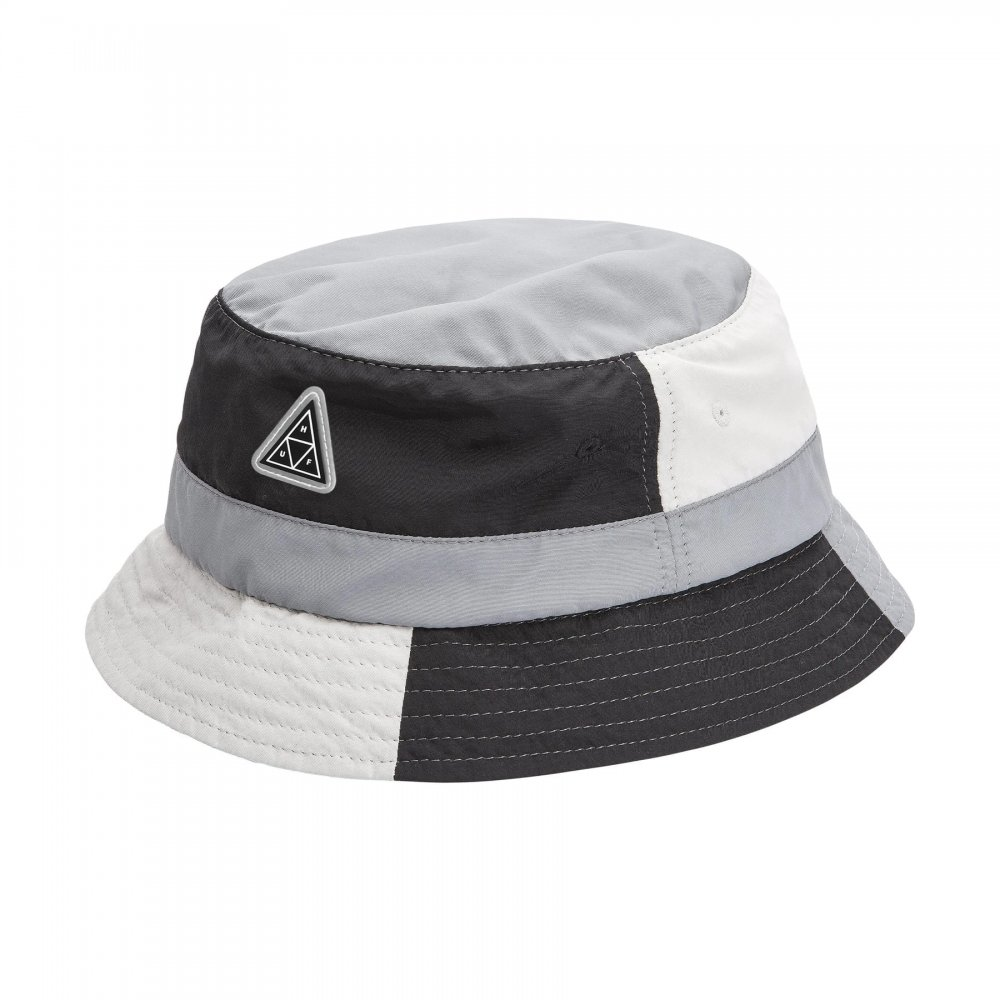 huf <br/><b>hat wave nylon bucket hat</b> <br/>(ht00467-black)