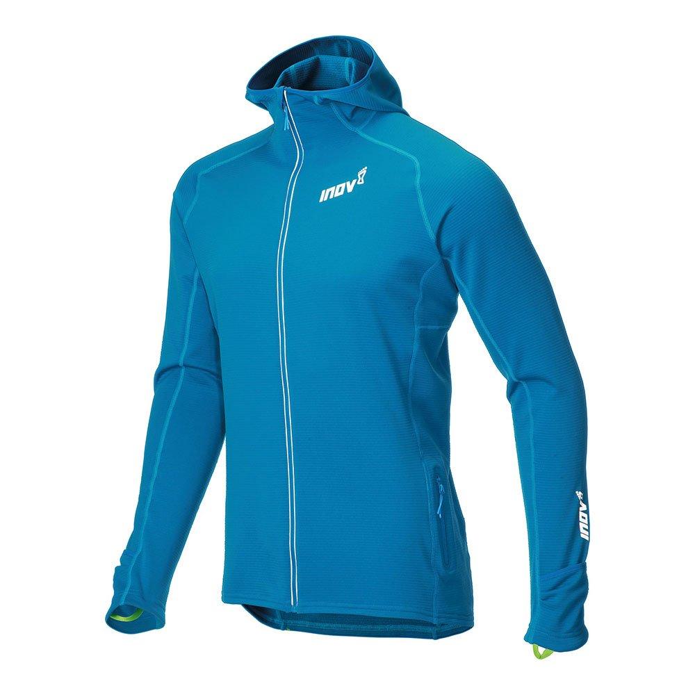 inov-8 technical mid hoodie fz m niebieska
