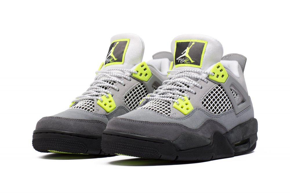 Air Jordan 4 Retro SE 'Neon' (GS) (CT5343 007)