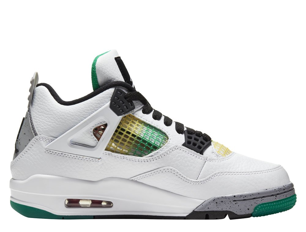 "women's air jordan 4 retro ""rasta"" (aq9129-100)"