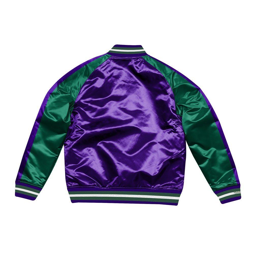 mitchell & ness jacket milwaukee bucks  (stjksc19007-mbupurp)