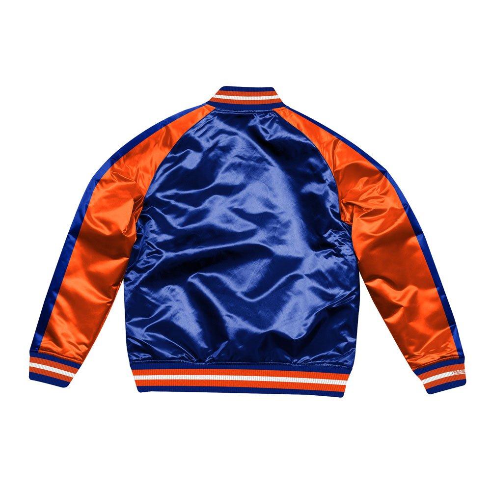 mitchell & ness jacket  new york knicks (stjksc19007-nykroya)