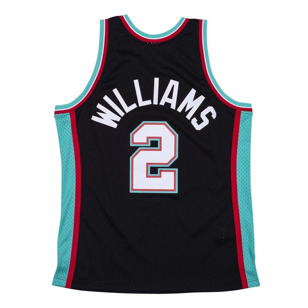 mitchell & ness nba swingman memphis grizzlies - jason williams #2  (smjycp19062-mgrbktl0)