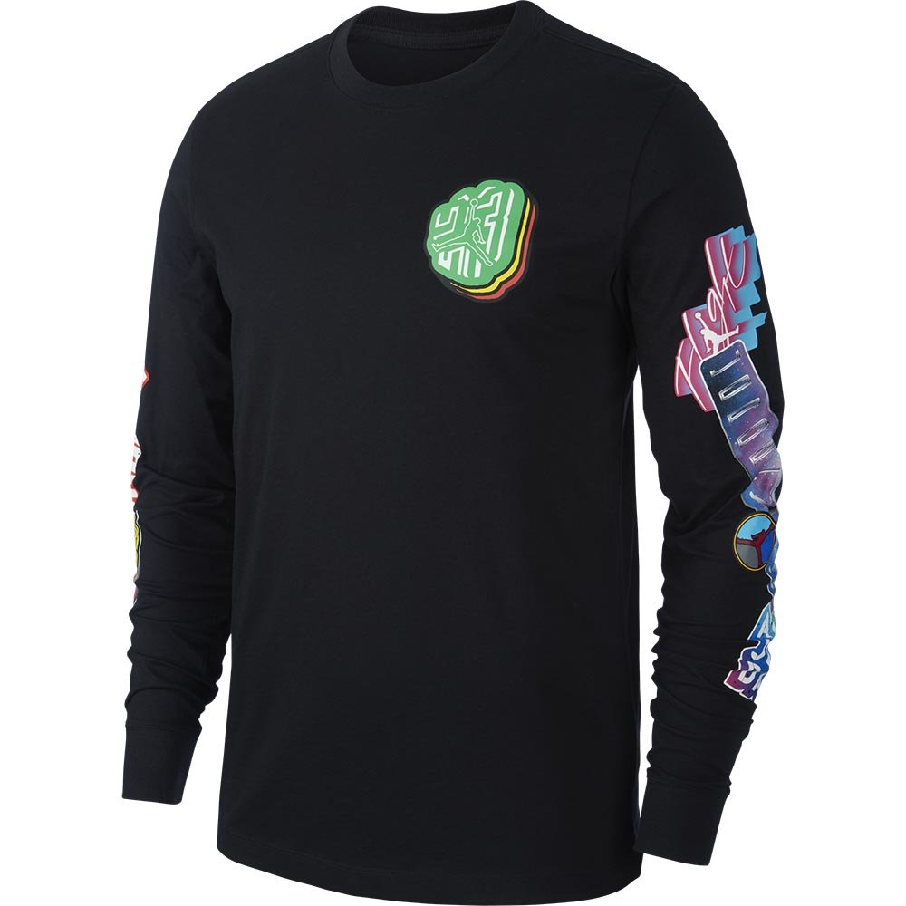 air jordan photo repeat longsleeve crew black (cd5513-010)