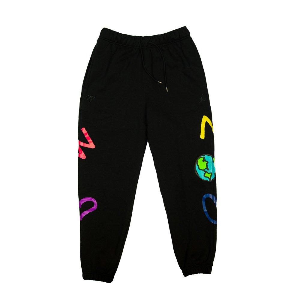 jordan why not? men's fleece trousers (cw4263-010)