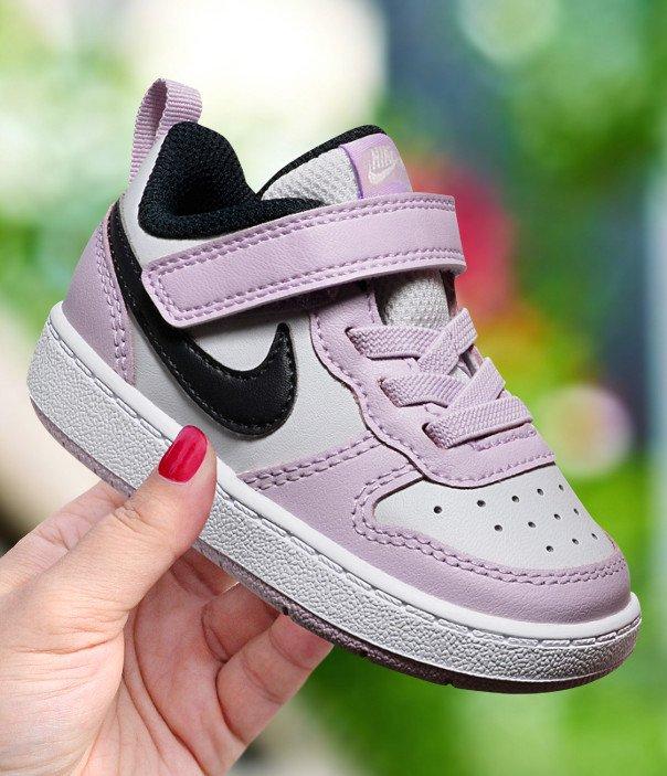 Buty dla dzieci Nike Court Borough Low 2 BQ5453