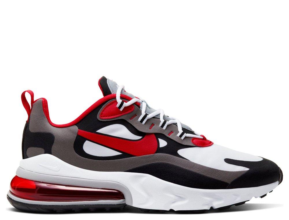 buty nike air biało-czerwone