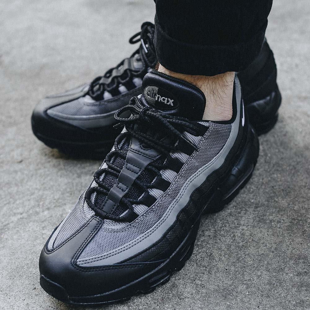 Buty Męskie Nike Air Max 95 Essential Czarno Białe