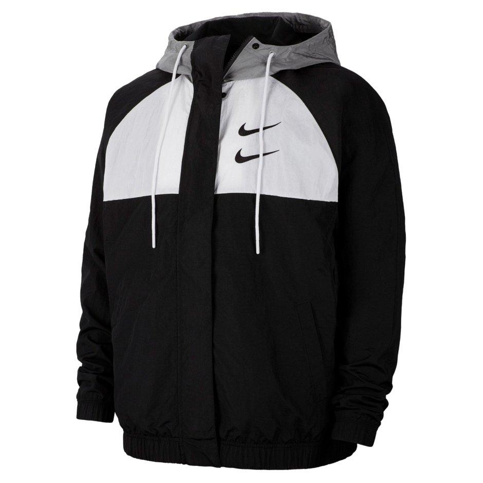 nike nsw woven hooded jacket (cj4888-011)