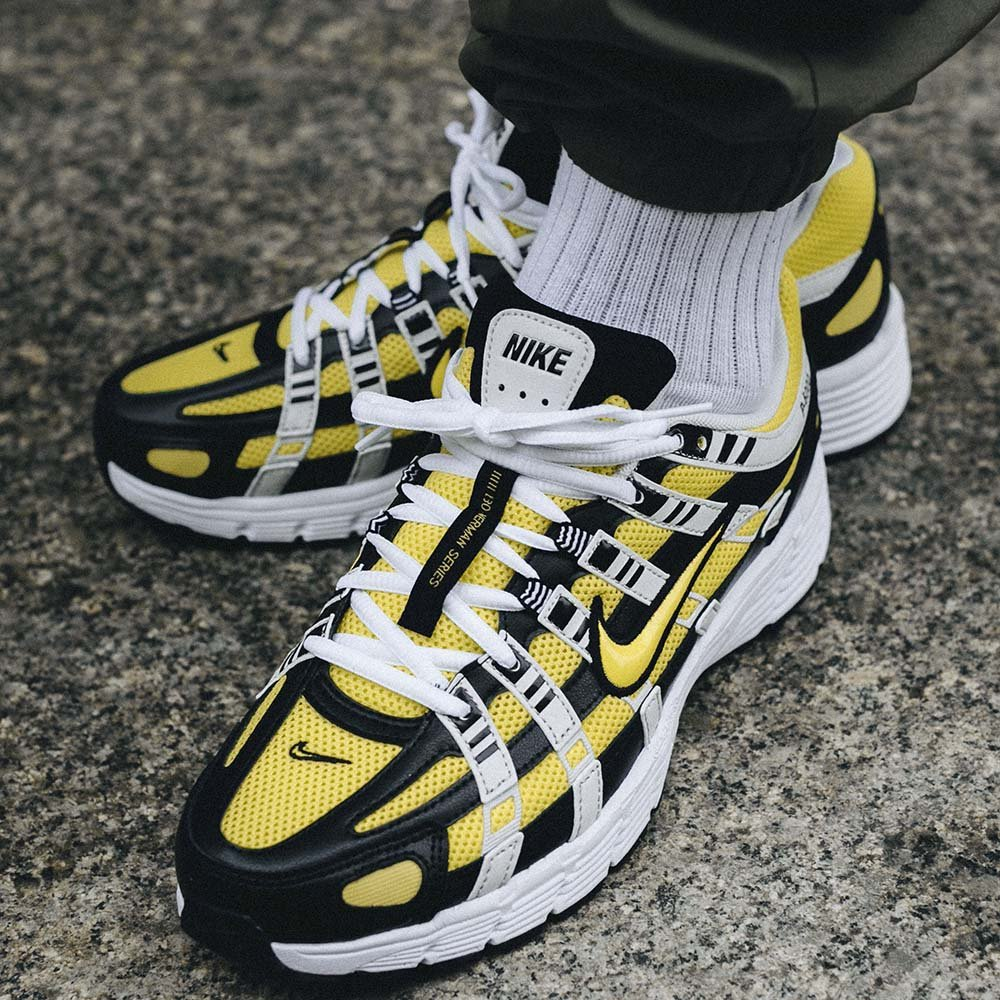 Nike P 6000 SE Męskie Czarno Żółte (CD6404 007)