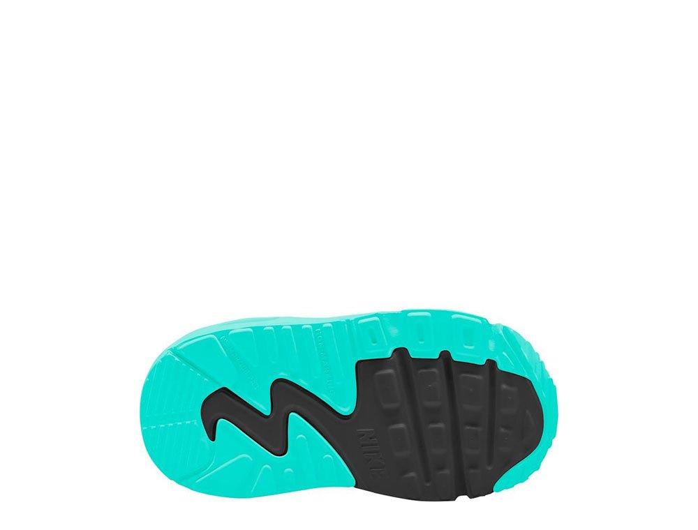 Nike Air Max 90 Leather (TD) szaro miętowe dziecięce