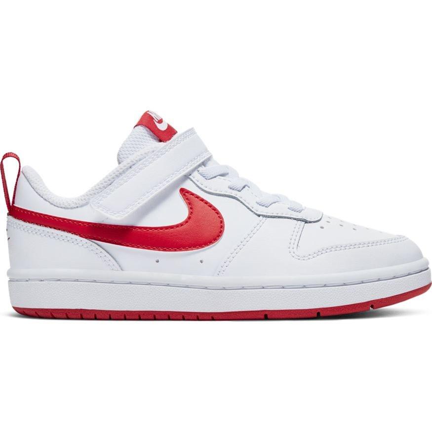 Nike Court Borough Low 2 (PSV) Dziecięce Białe
