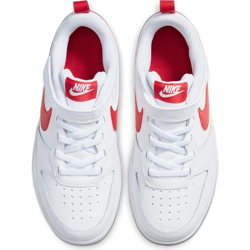 Nike Court Borough Low 2 (PSV) biało czerwone