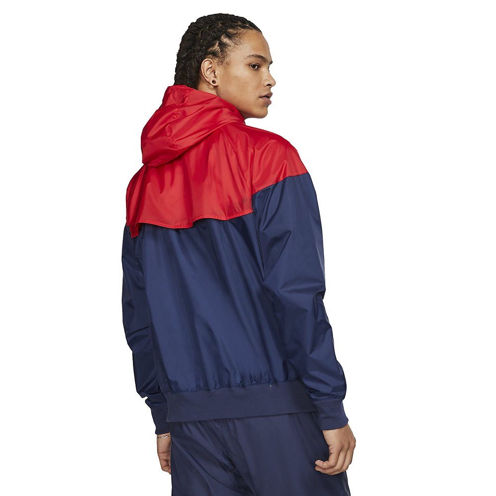 nike nsw windrunner hooded windbreaker (ar2191-410)