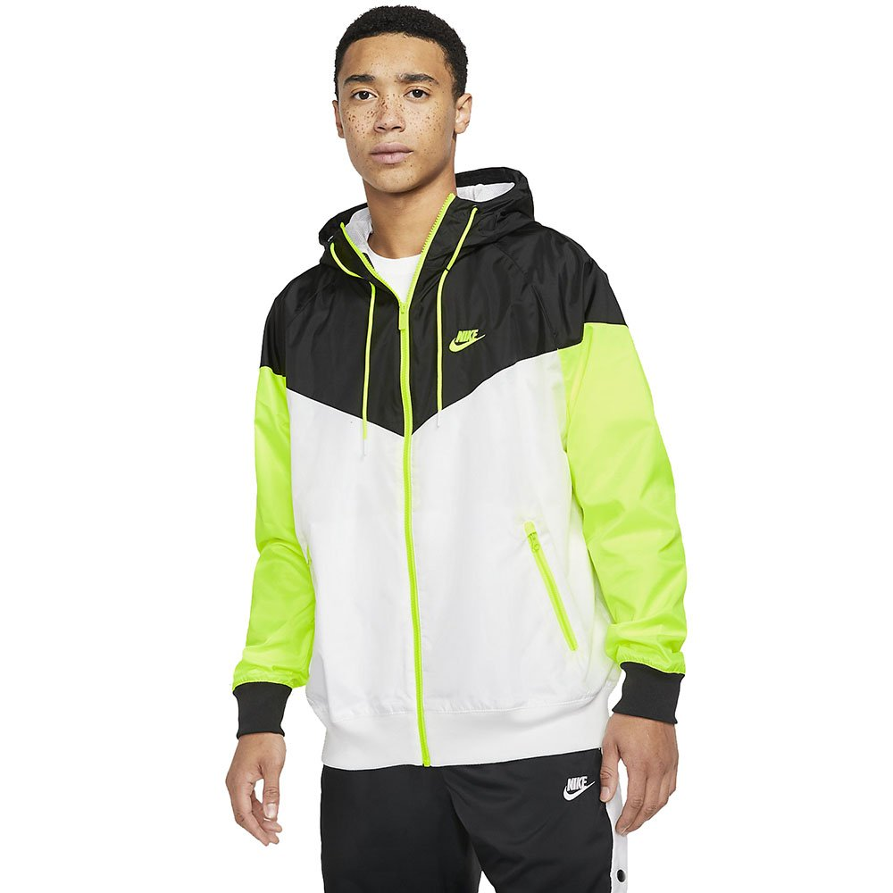 nike nsw windrunner hooded windbreaker (ar2191-103)