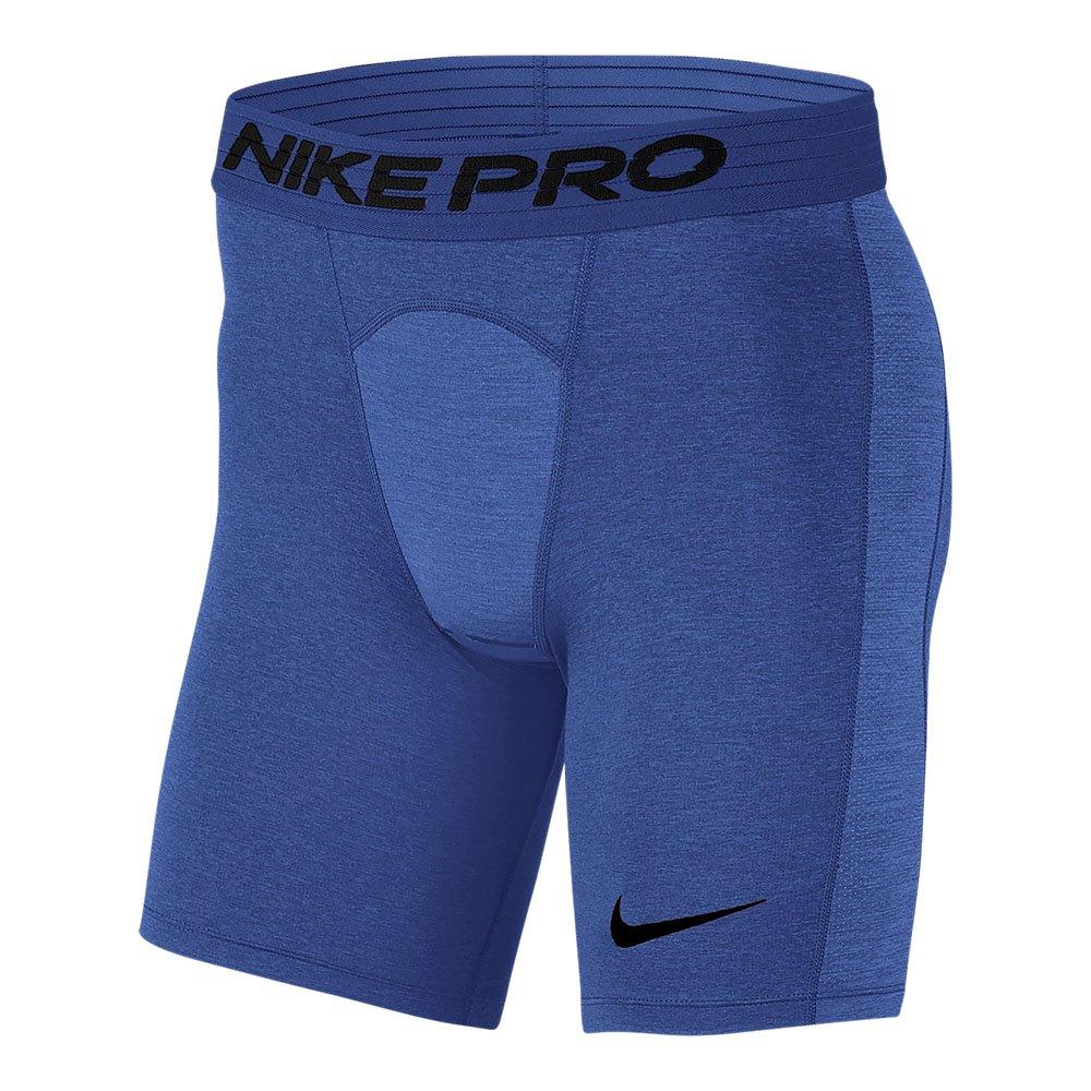 nike protraining shorts m niebieskie