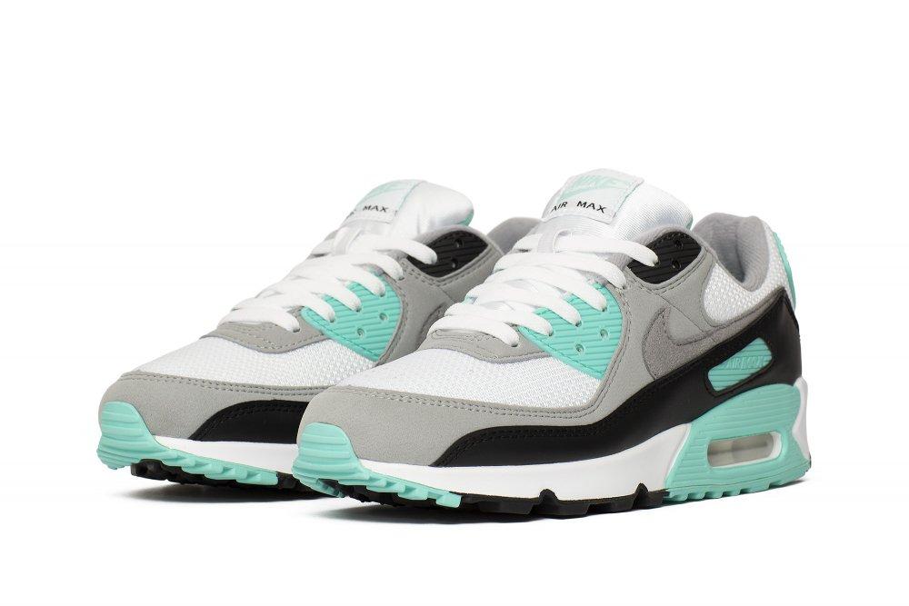 Buty Damskie Nike W Air Max 90 CD0490 104 (Biały, Szary