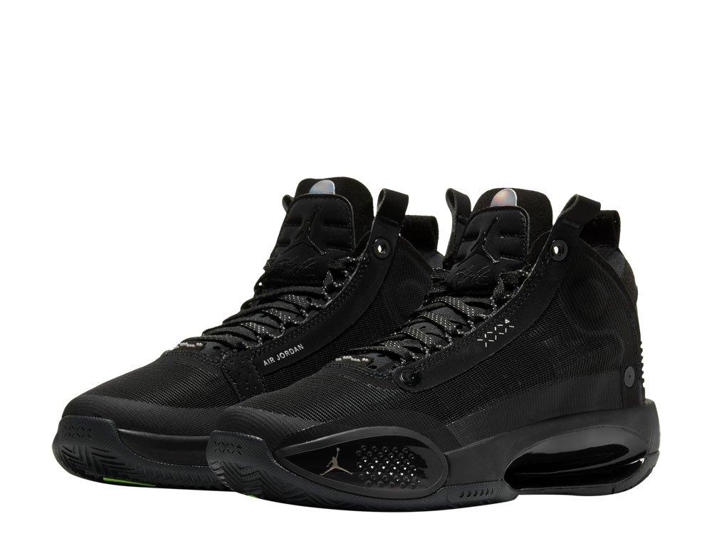 "air jordan xxxiv (gs) ""black cat"" (bq3384-003)"