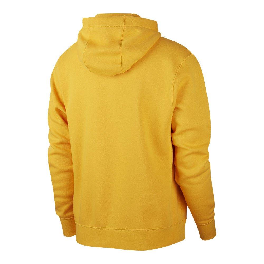 Nike – Club – Żółta bluza z kapturem