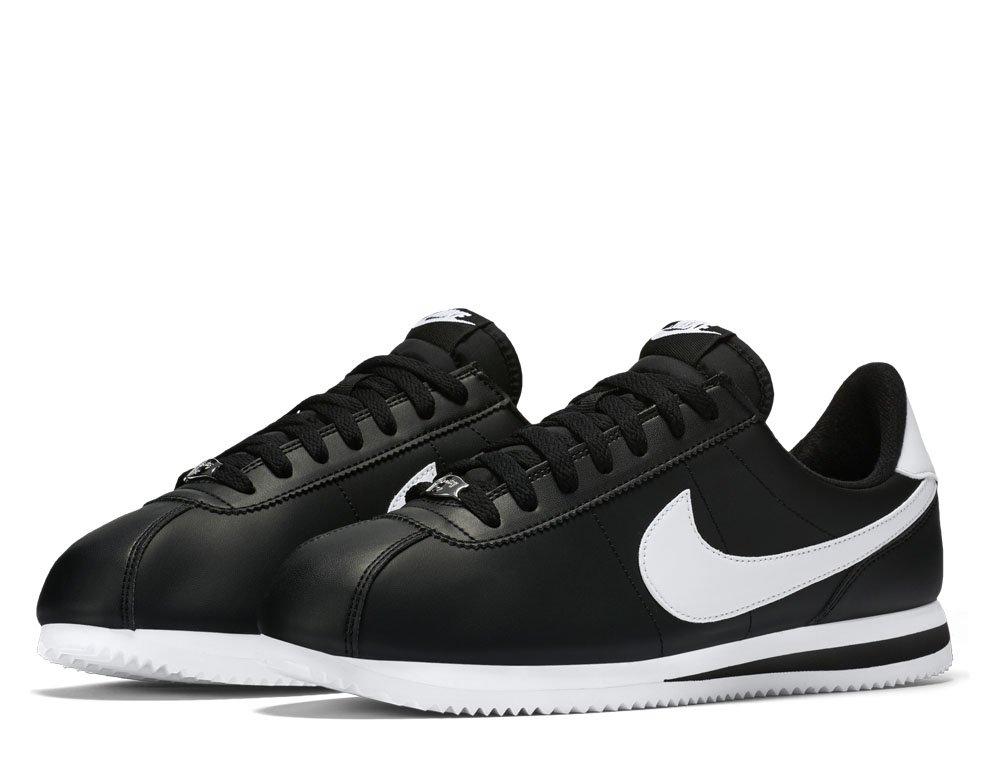 Nike Cortez Basic Leather Męskie Czarne (819719 012)