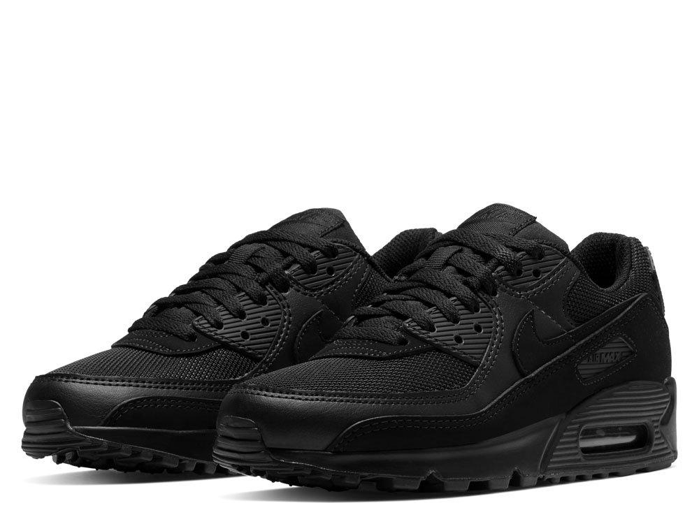 Buty Nike AIR MAX 90 W Trampki i tenisówki damskie czarne