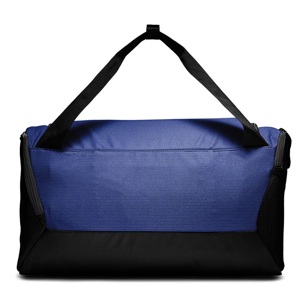 nike brasilia training duffel bag small (41l) niebieska