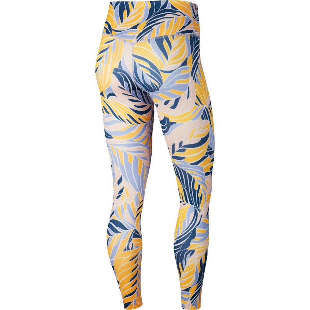 nike one 7/8 printed tights w multikolor
