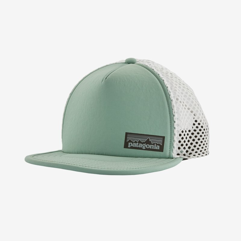 patagonia duckbill trucker hat (28756-gypg)