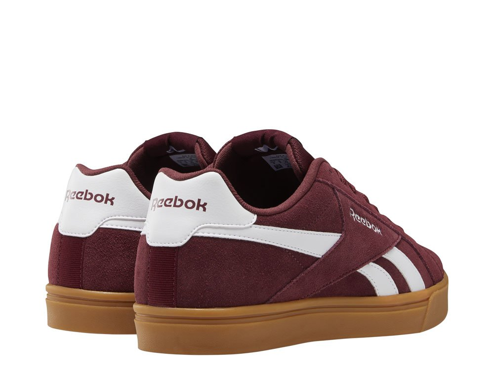 reebok royal complete 3.0 low męskie bordowe