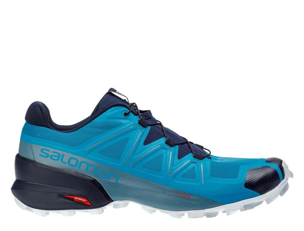 salomon speedcross 5 m niebiesko-granatowe